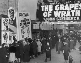 The Grapes Of Wrath film premier