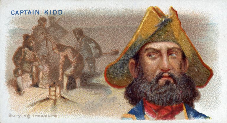 Cigarette Card Captain Kidd