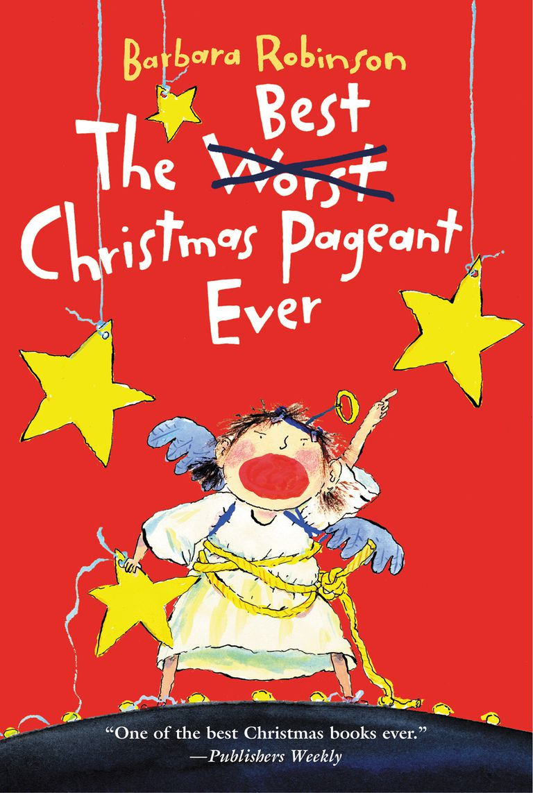 the best christmas pageant ever book cover - Classic Christmas Books