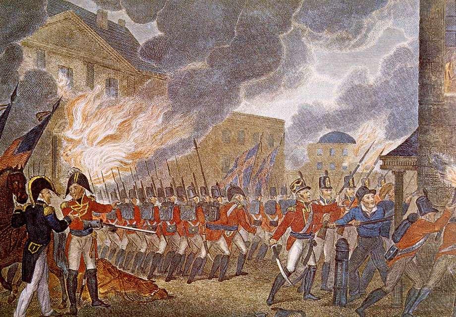 Burning of Washington, 1814