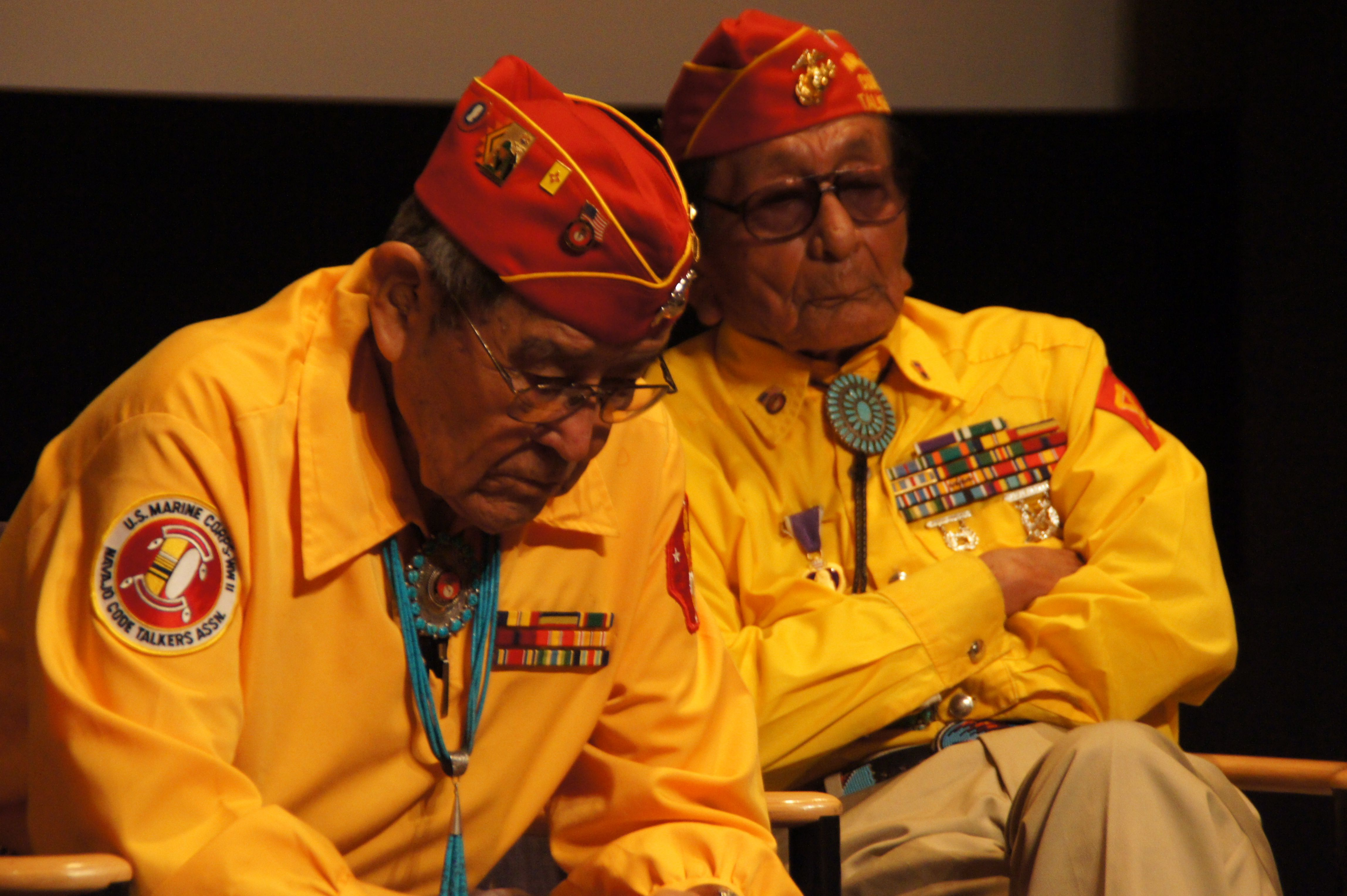 Navajo World Code Talkers