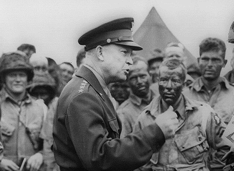 Biography Of General Dwight D Eisenhower