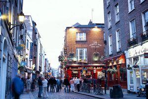 Street scene, Dublin, Ireland