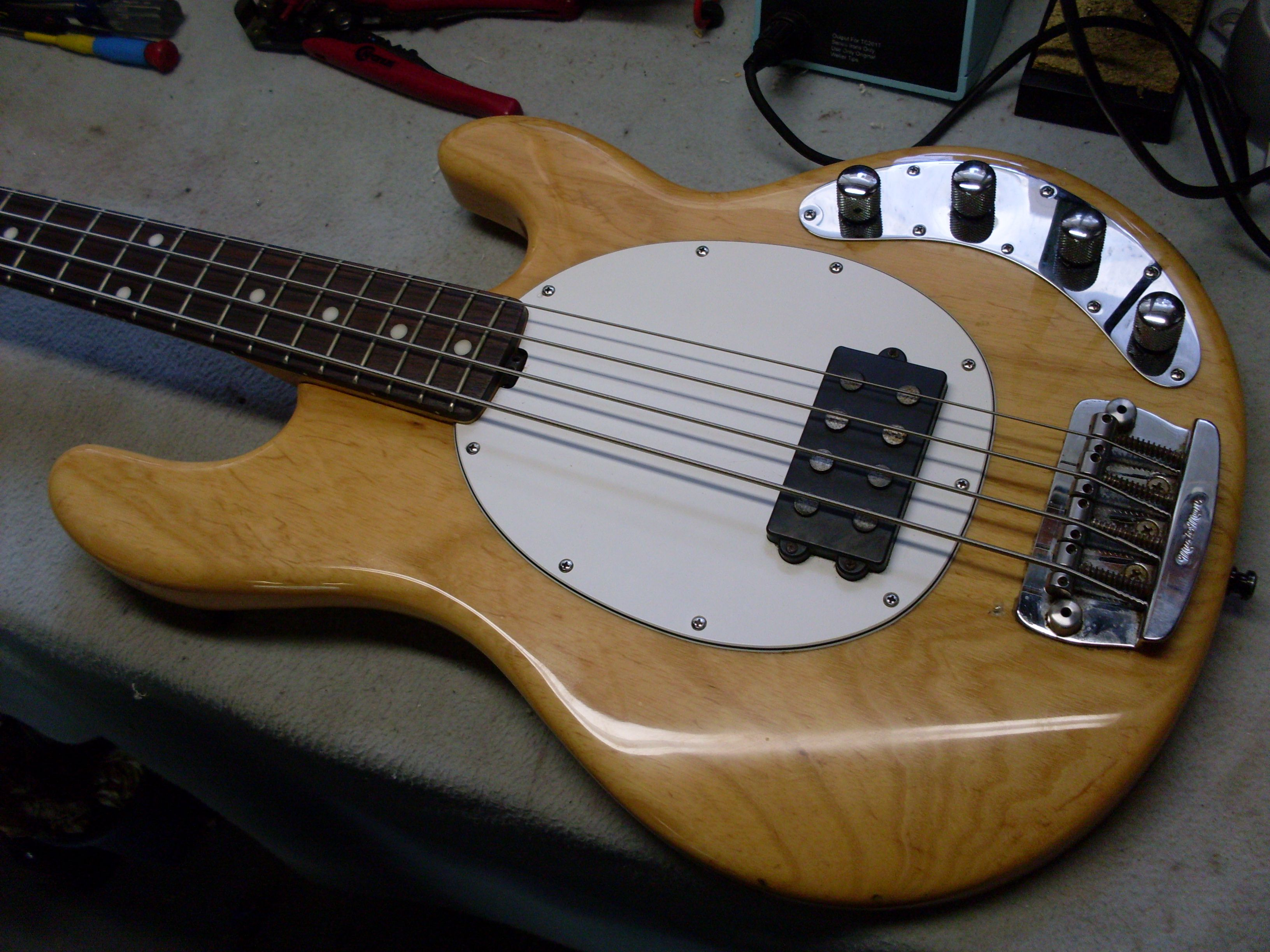 Parts Of The Bass Guitar Overview Acoustic Wiring Diagram
