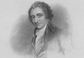 engraved portrait of Thomas Paine