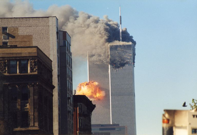The World Trade Center on 9/11