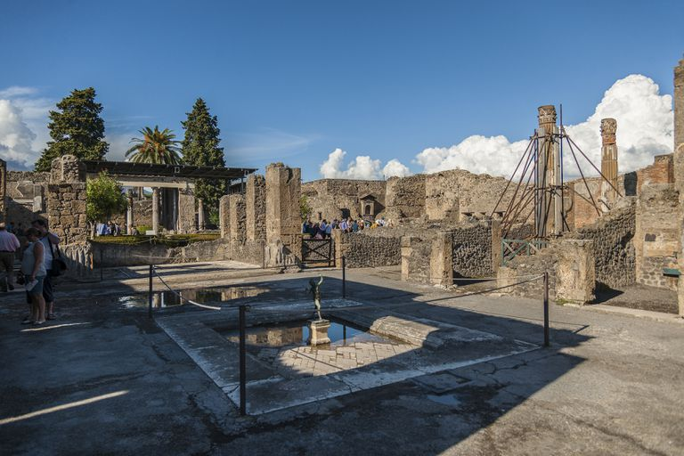 Pompeii, Casa del Fauno, The House of the Faun.