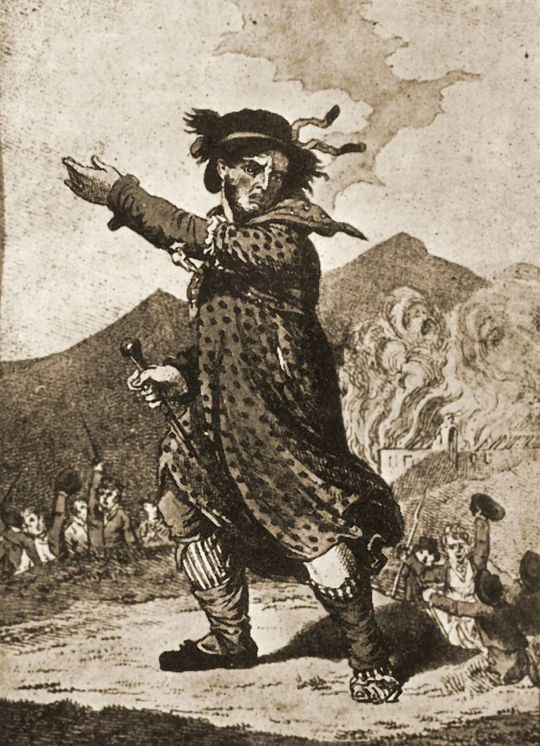 Illustration of mythical Luddite leader General Ludd
