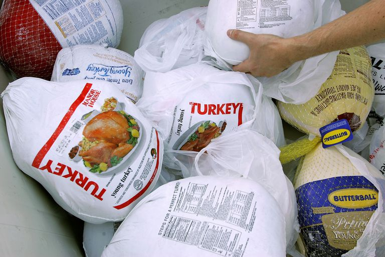 Grocery Store Turkeys