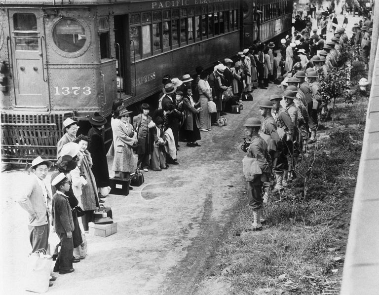 Japanese American Internees During World War II