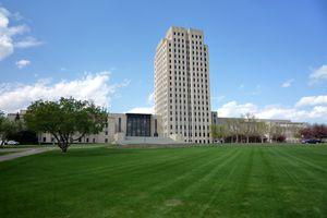 Capitol Building in Bismarck, North Dakota