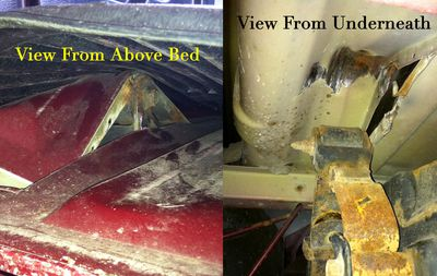 how to replace a power steering rack a damaged truck bed from a broken leaf spring shackle