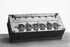 Blaise Pascal Calculating Machine