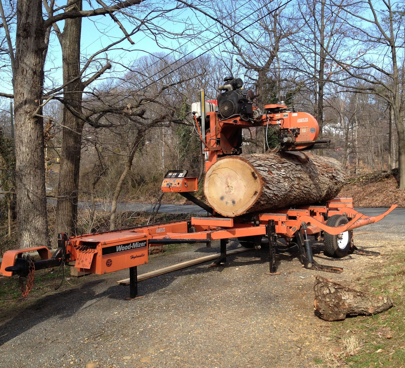 Woodmizer Sawmill For Sale >> Portable Sawmills What Should You Buy