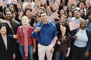 Swearing-in ceremony for U.S. citizenship