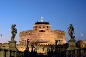 The Castel Sant'Angelo