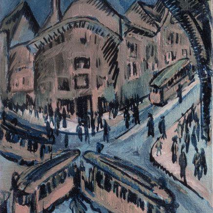 Ernst Ludwig Kirchner, Nollendorf square, 1912
