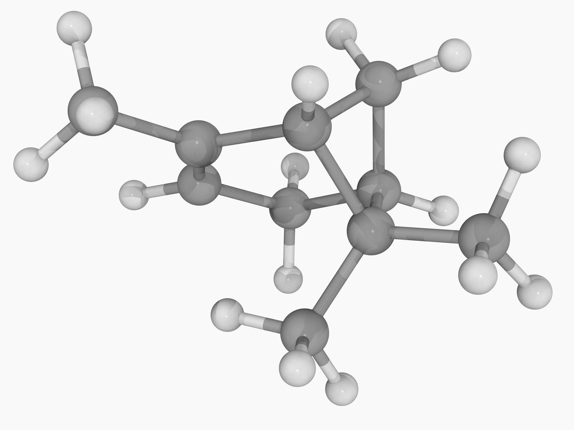 alpha-pinene molecule