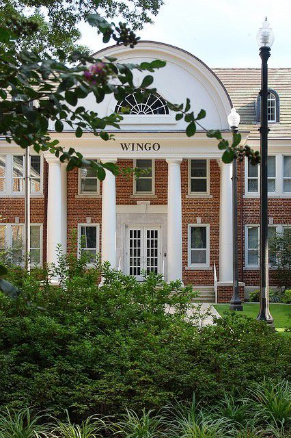 Wingo Hall at the University of Central Arkansas