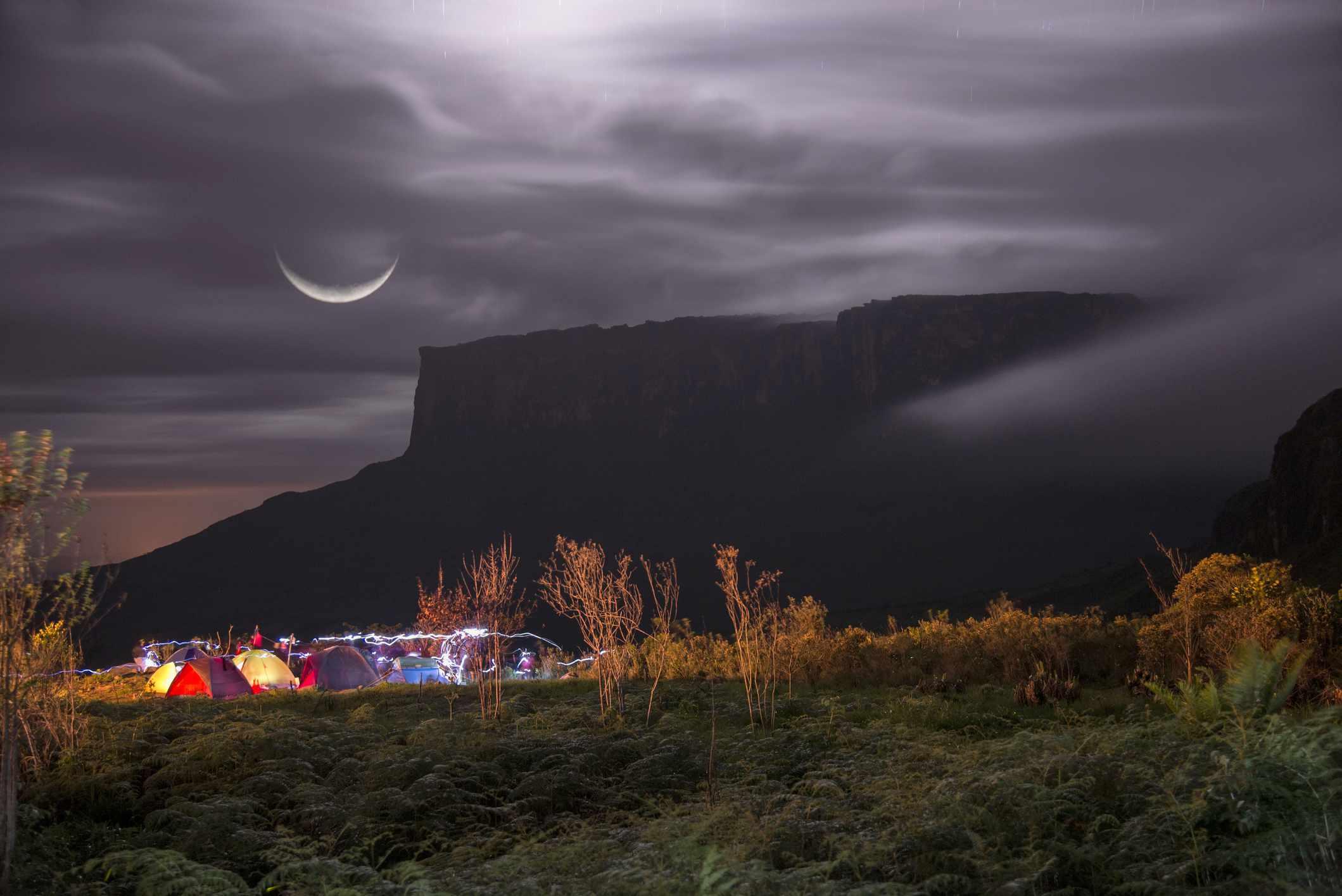 Base camp of Mount Roraima