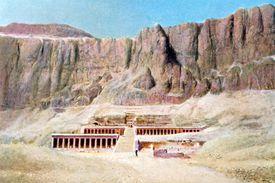 Mortuary Temple of Hatshepsut, Deir el Bahari, Luxor, Egypt,