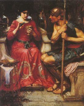 Jason and Medea by John William Waterhouse. 1907.