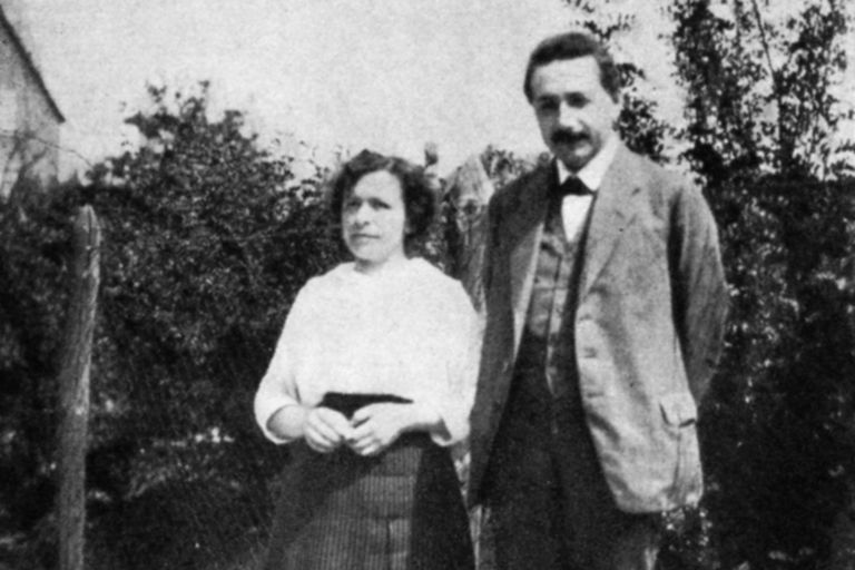 Mileva Maric and Albert Einstein, about 1905