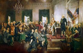 Painting of the Constitutional Convention
