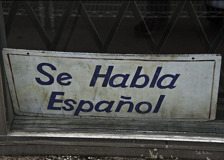 Spanish spoken here