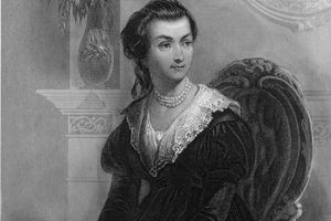 Engraved Portrait of Abigail Adams