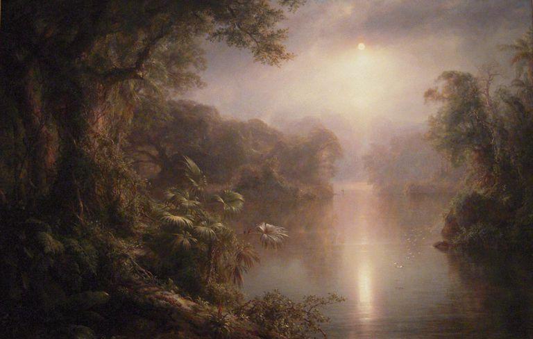 frederic edwin church el rio de luz