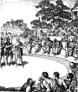 Trial of Socrates, Ancient Greek Philosopher, 399 BC (19th Century).