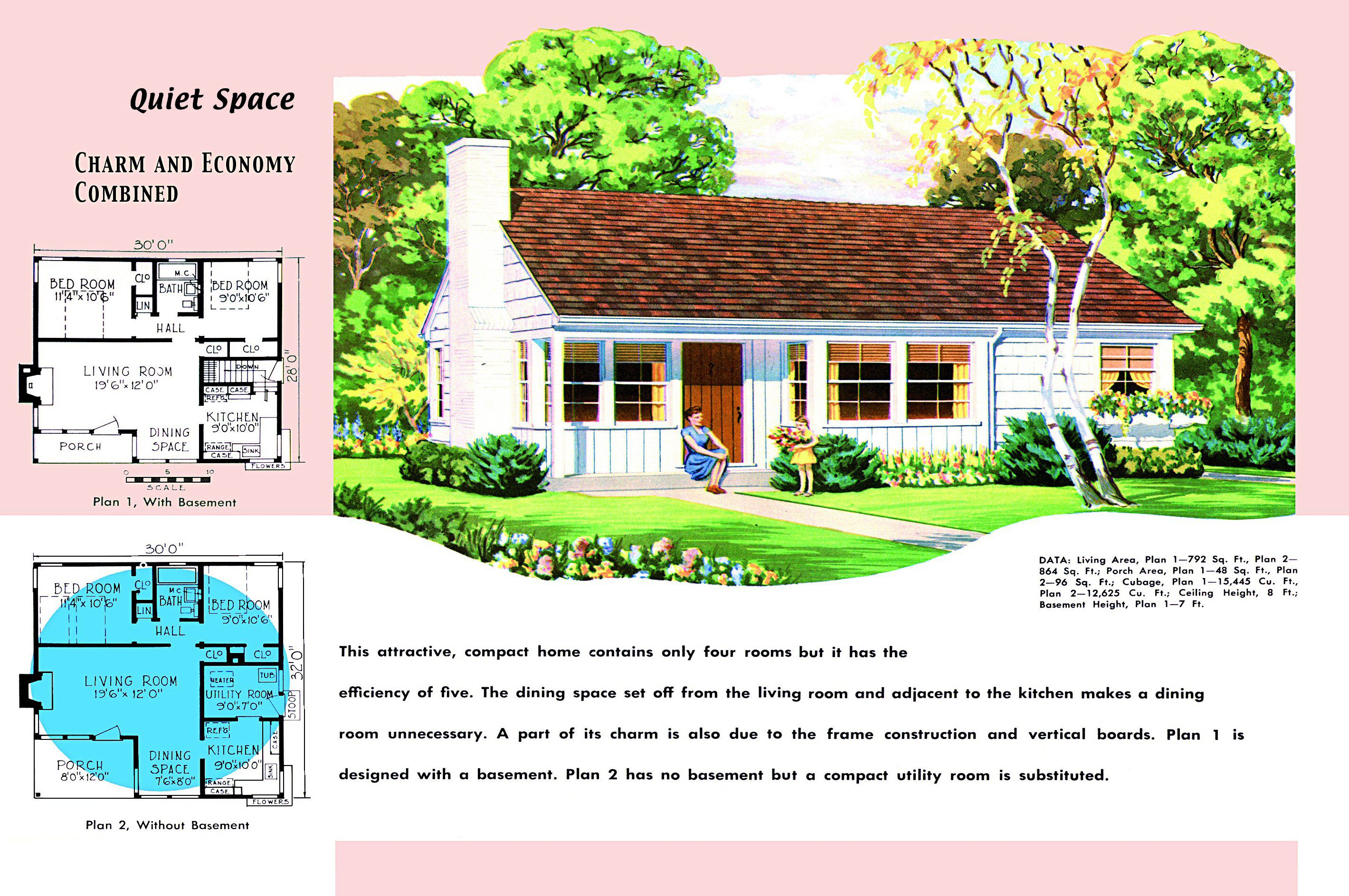 A History of Minimal Yet Traditional House Style on 1940s building plans, 1940s house plans, 1940s apartment plans, 1940s home, 1940s farmhouse plans,