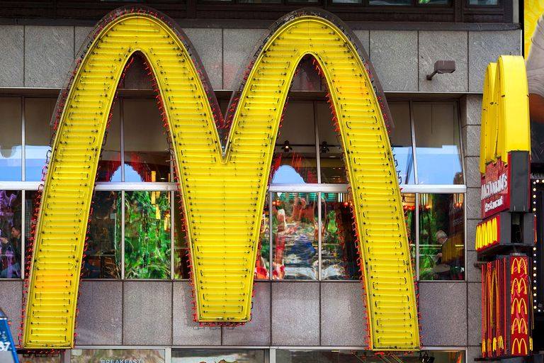 Metonymy of the Golden Arches