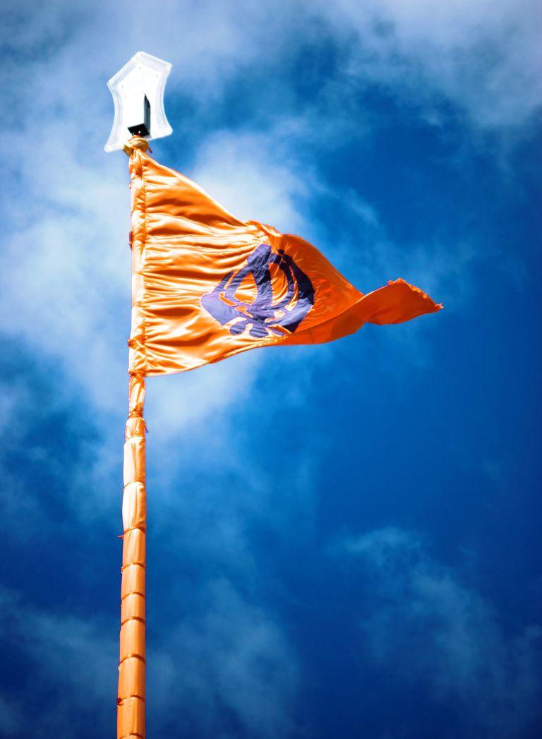 definition of nishan sahib sikh flag
