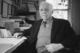 Photograph of public relations pioneer Edward Bernays