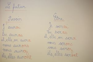 French lesson