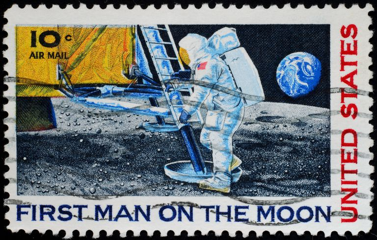 Neil Armstrong stamp