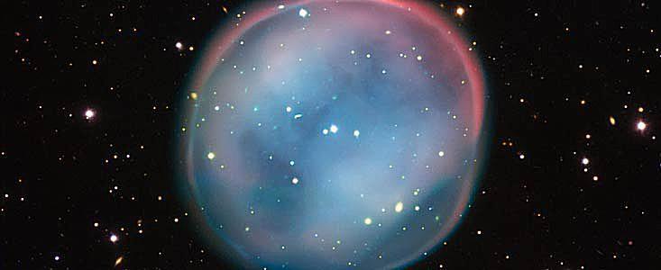 A planetary nebula called the Southern Owl Nebula
