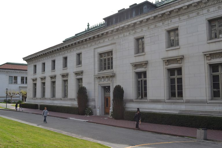 California Hall at Berkeley