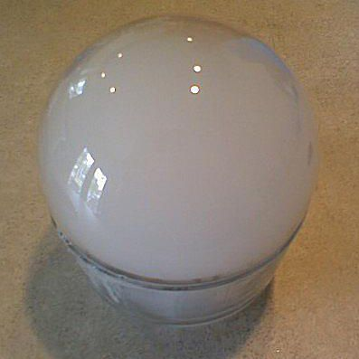This is a dry ice bubble.