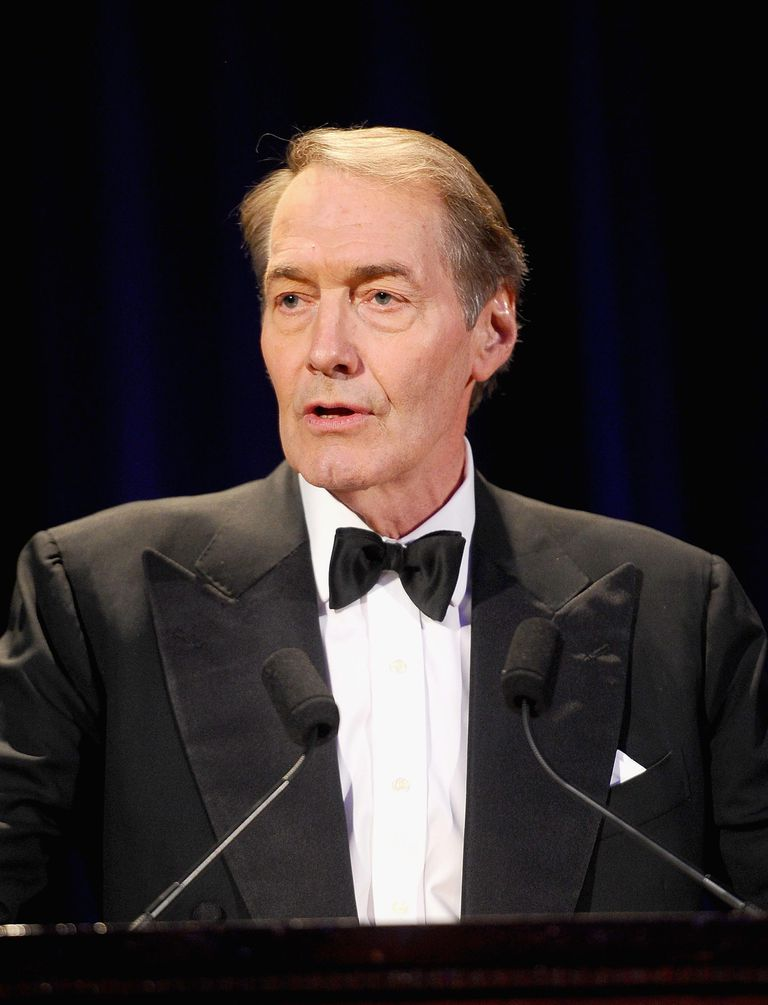 Talk show host Charlie Rose