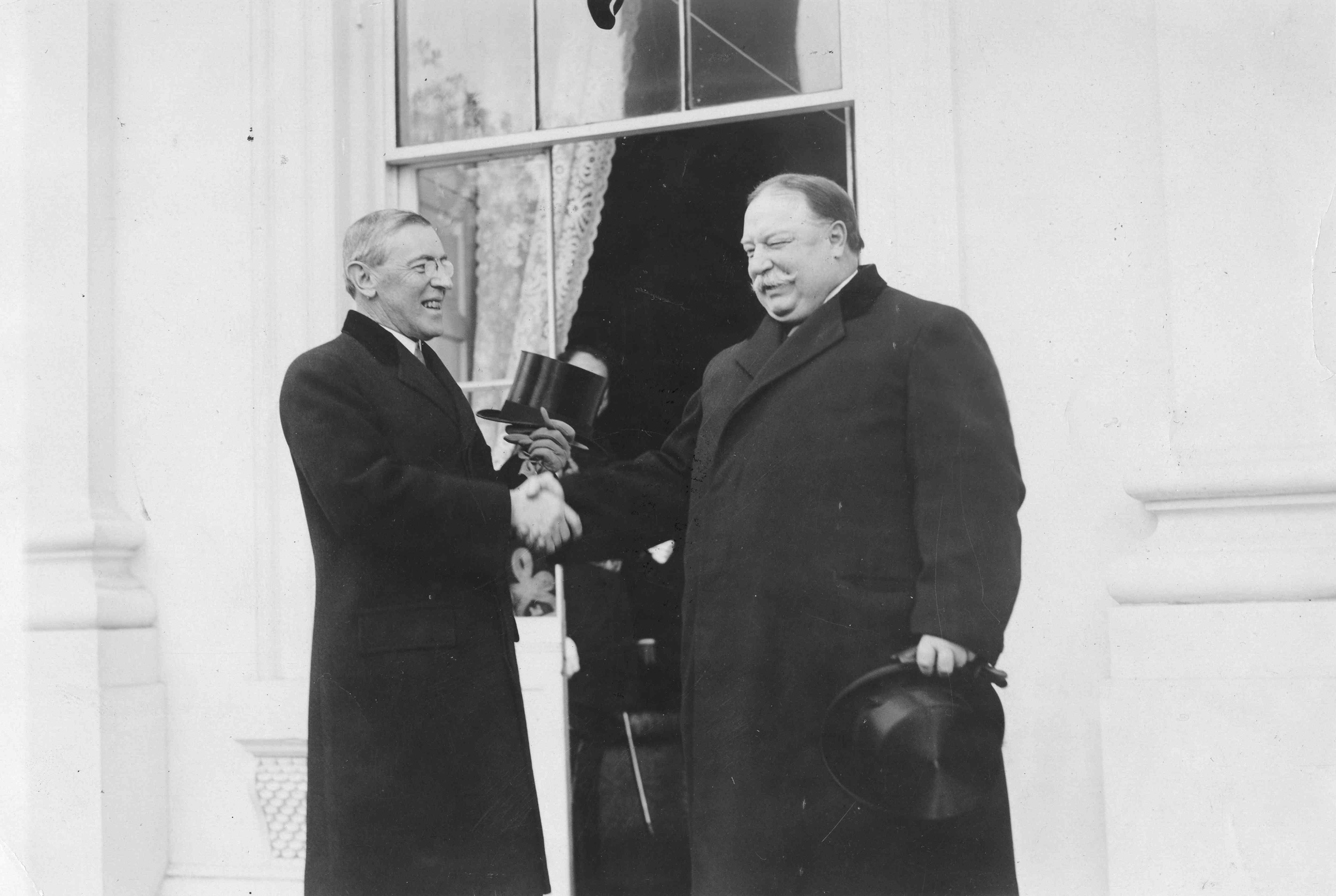 At The Wilson Inauguration