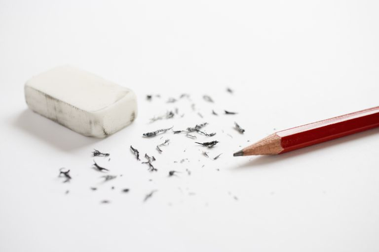 Lápiz y borrador
