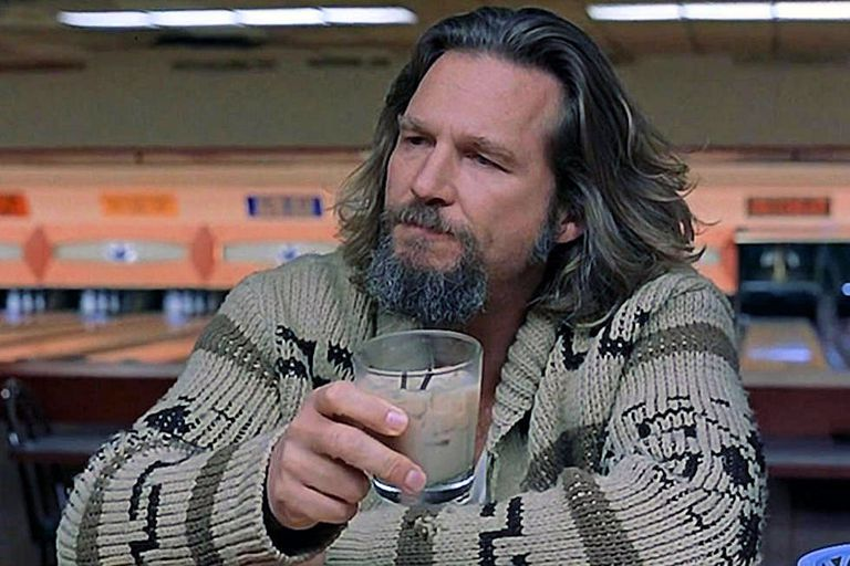 Jeff Bridges as The Dude in The Big Lebowski