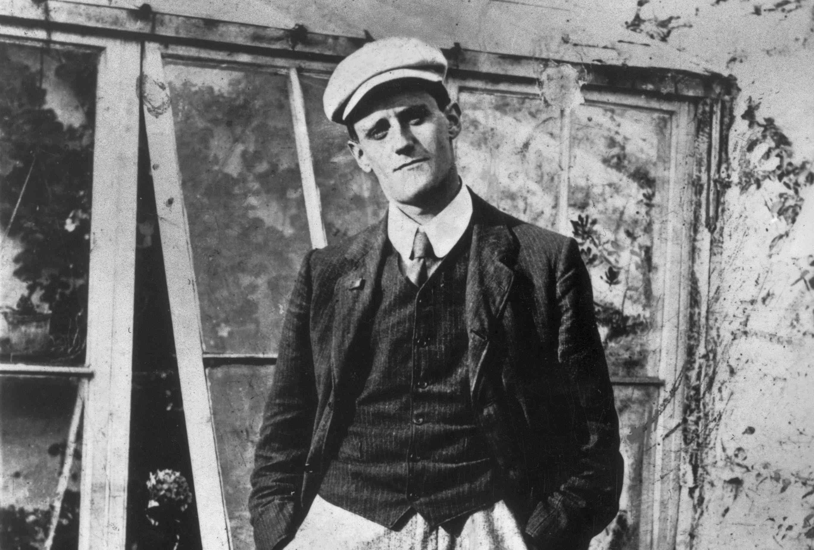 photograph of young James Joyce