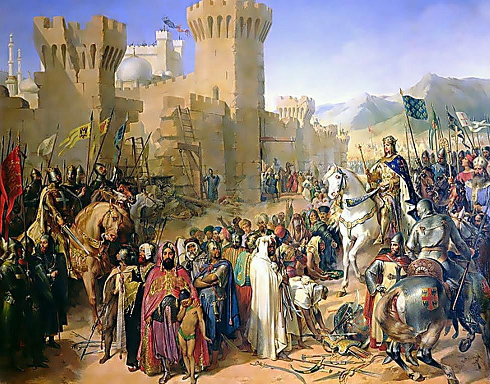 the sieges of antioch and jerusalem during the first crusade and acre during the third crusade The sometimes so-called first kingdom of jerusalem  during the third crusade  acre was then claimed by hugh of antioch.