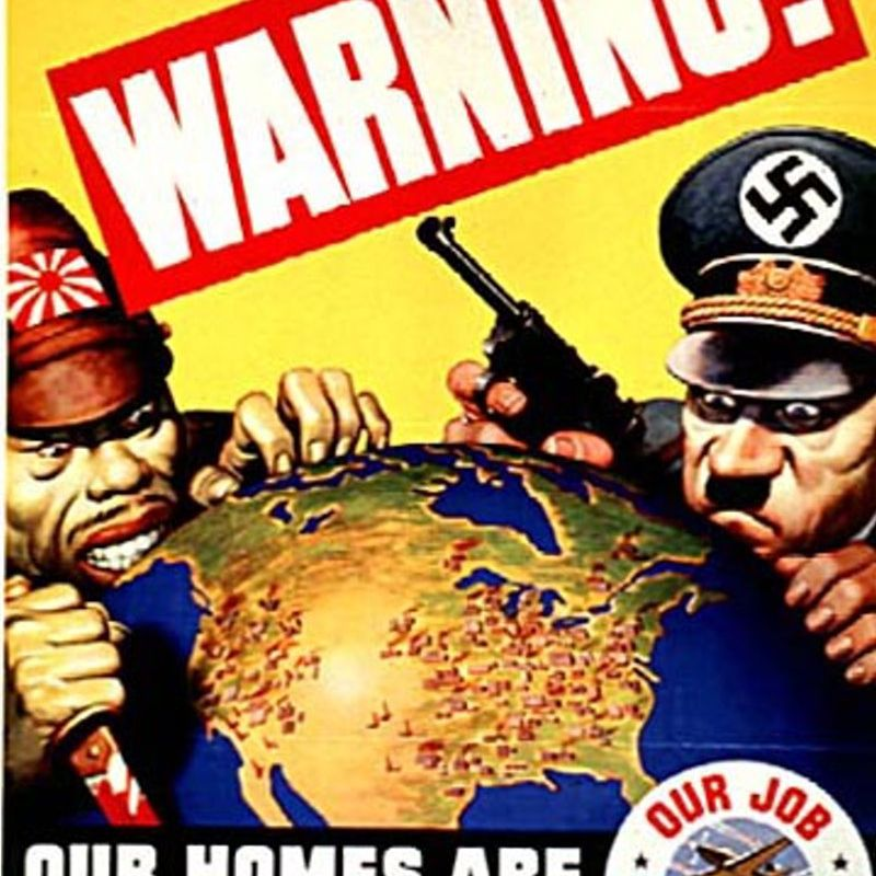 Victory Begins at Home - World War II Posters