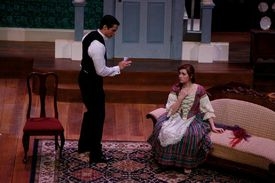 'A Doll's House' being performed.
