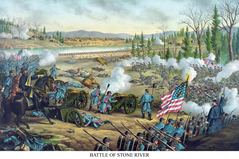 Battle of Stone River or Murfreesboro
